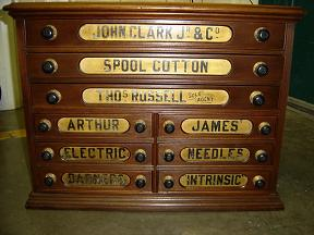 Iron Horse Antiques - Spool Cabinets, Part 2